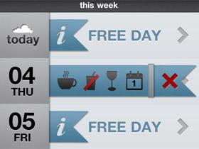 iPhone 行事曆工具,Free-Time 幫你找出空閒時間