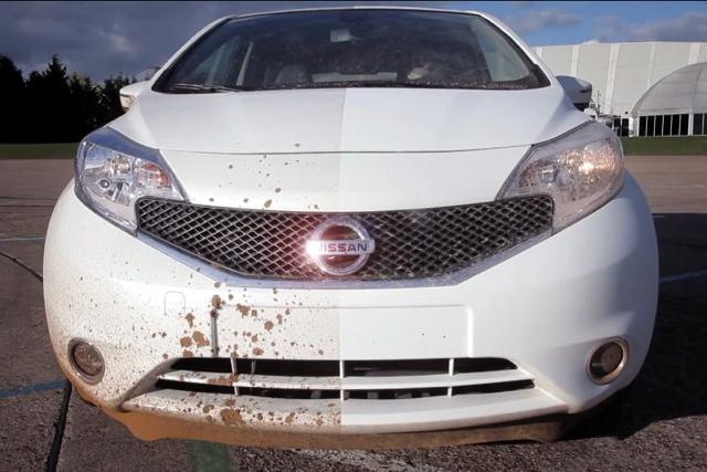 Nissan開發出有自我清潔功能的外觀塗料!跟撥水劑的效果十分類似