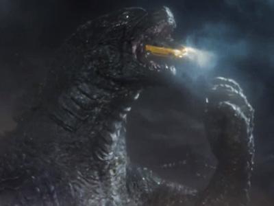 哥吉拉(酷斯拉) Godzilla搞笑演出,生吞義大利 Fiat 500L掀背車被噎到!