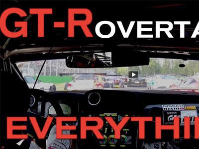 【熱門話題】超強 Nissan GT-R Nismo GT3賽車一圈巴掉17輛對手!