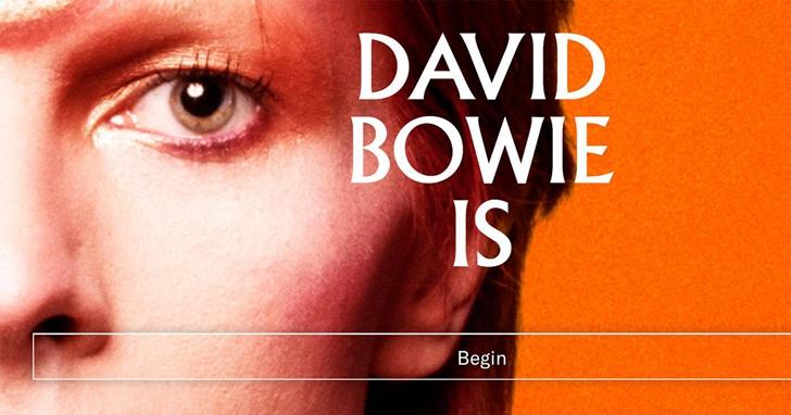 「David Bowie Is」展覽推出AR 應用程式,從這裡了解大衛·鮑伊的一生