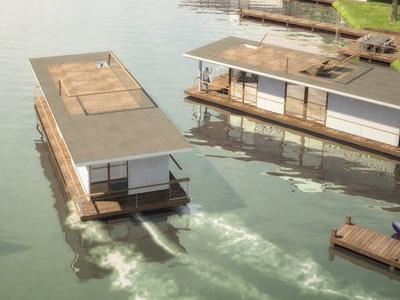 全球暖化不用怕,太陽能船屋強過億元豪宅!