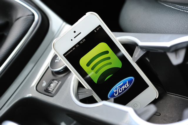 [Computex2014 國際電腦展] Ford大秀車用科技:車與車對話技術