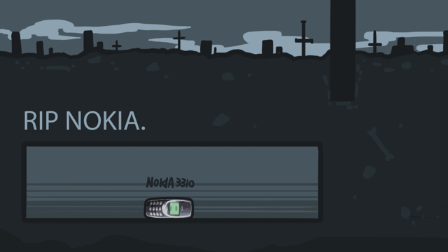 【毛語錄】NOKIA輸了手機市場,但贏了全世界!