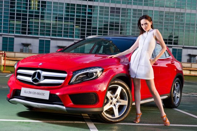 靜不下來 Mercedes-Benz The new GLA 新生運動休旅