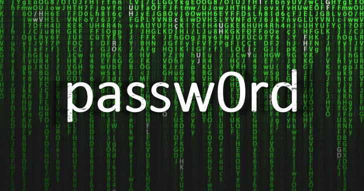 2018 年百大常用密碼出爐!123456、password 無腦密碼繼續蟬連榜首!