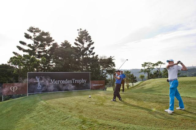 2014 Mercedes-Benz揮桿行善國際高爾夫球賽璀璨落幕