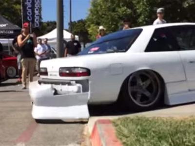 【熱門話題】Nissan Silvia改這麼低...註定要悲劇了!