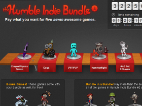 最後 24 小時, Humble Indie Bundle #3 買了沒?