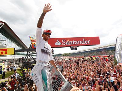 Hamilton 拿下家鄉英國分站冠軍,賓士動力元件再度大獲全勝!