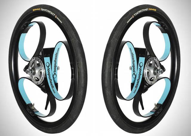 Loopwheel輪內懸吊系統,讓騎乘小型腳踏車變得更舒適