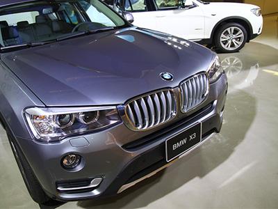 改款 BMW X3運動休旅車正式發表,全新2.0升柴油動力車款現身!
