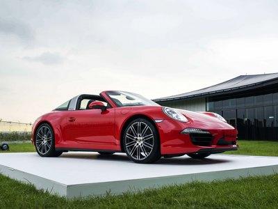 全新保時捷 911 Targa 4S 車型正式在台上市