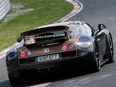 下一代 Bugatti Veyron超跑將搭載1,500匹馬力的油電混合動力系統?