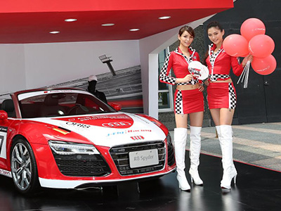 SOGO復興館發現 Audi Sport競速展間!