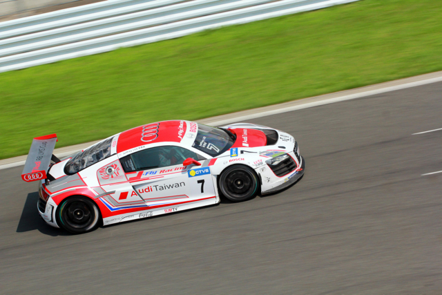 2014 Audi R8 LMS Cup日本站首次登場強力開跑!台灣奧迪 李勇德再次奪下分組季軍