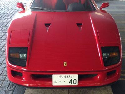 【熱門話題】27年後,Ferrari F40超級跑車依舊帥氣!