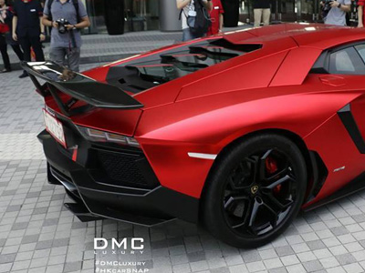 【熱門話題】DMC改裝套件讓 Lamborghini Aventador更兇猛!