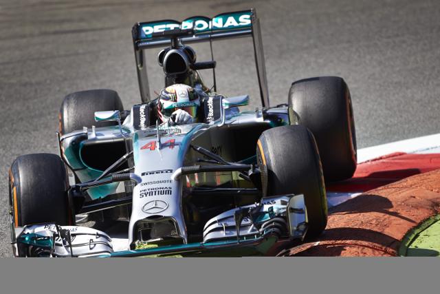Mercedes-Benz七度包辦 F1分站冠亞軍!義大利站摘下一城