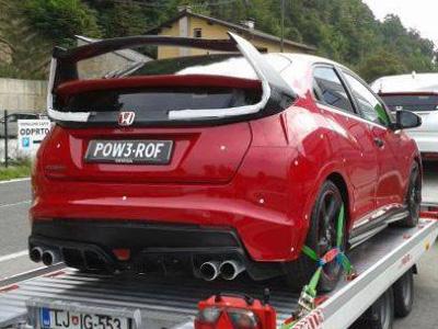 【熱門話題】Honda Civic Type R性能鋼炮間諜照?尾翼可以曬衣服了!