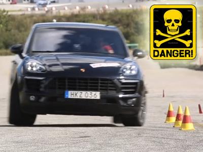 Porsche Macan的麋鹿測試結果「超級差」!防翻滾系統可能會讓你撞車?