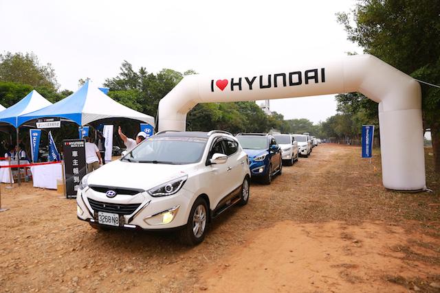 HYUNDAI 汽車業界首創千人大露營活動