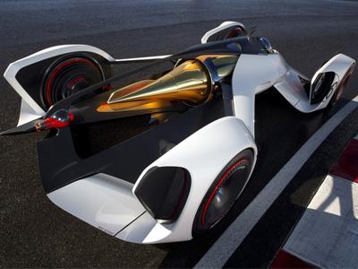 雷射動力的 Chevrolet Chaparral 2X Vision GT賽車!PS3 GT6遊戲中可飆到386km/h!