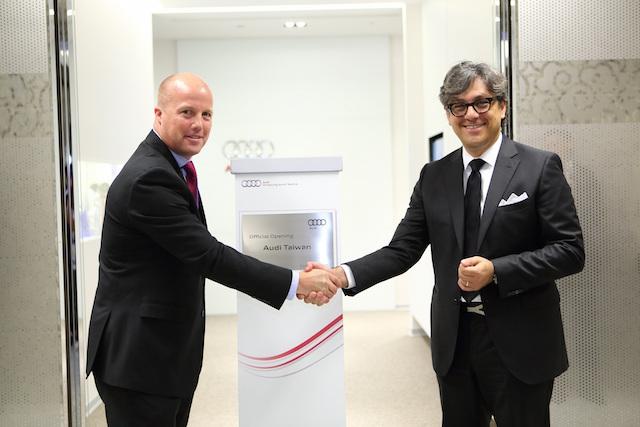 AUDI AG銷售暨行銷董事會成員Luca de Meo:期許在台銷售於2017年達1萬台目標!