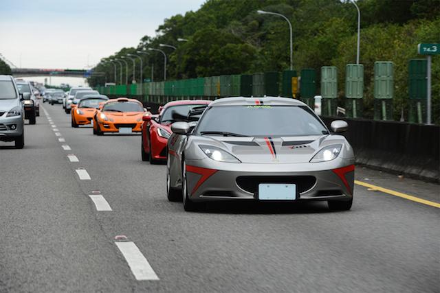 Lotus Day Taiwan 2014 以車會友:齊聚中台灣