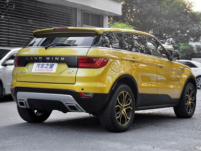 超級山寨版 Range Rover Evoque現身!Landwind X7真的像到讓人罵髒話!