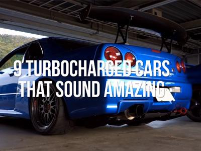 9輛聲浪超殺的 Turbo渦輪引擎動力跑車!舊 Nissan GT-R與 Ferrari F40不相上下!