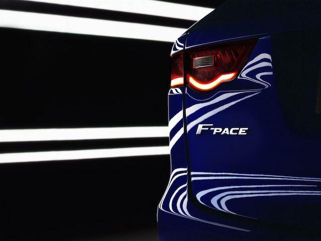 JAGUAR跨界跑車 F-PACE即將於2016量產