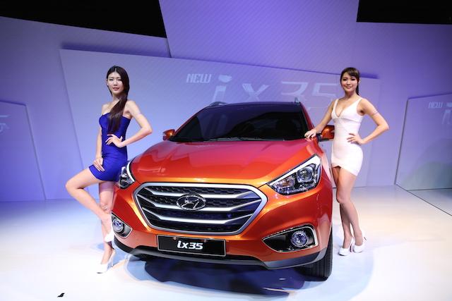 HYUNDAI 穩坐柴油休旅車第一品牌,全車系同期成長近13%,2015元月開紅盤!