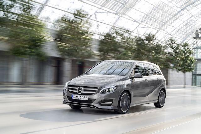 Mercedes-Benz The new B-Class公佈售價 156萬元起