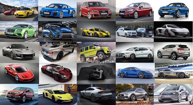 2015日內瓦車展特輯:2015 Geneva Motor Show
