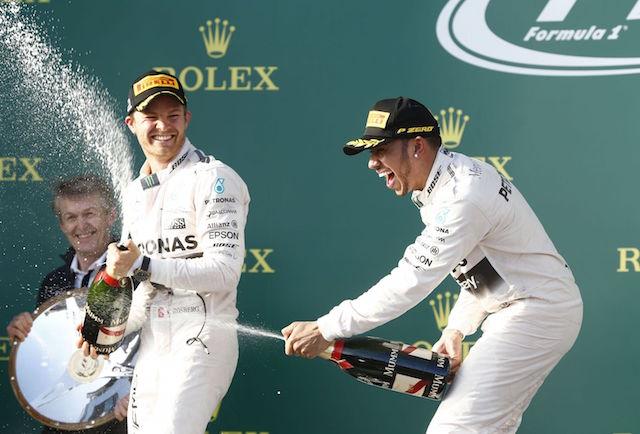 賓士Mercedes-Benz AMG PETRONAS在 F1開幕賽旗開得勝