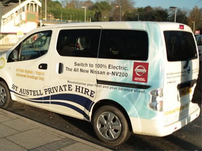 Nissan e-NV200電動車幫英國計程車公司每年省下台幣370萬