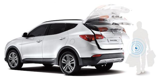2015年式Hyundai Santa Fe配備智慧型電動尾門車型上市