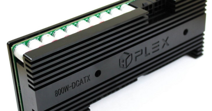小小一片、力量無限,HDPLEX 推出 800W DC-ATX 電源供應板!