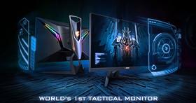 世界首款戰術型電競螢幕,AORUS AD27QD震撼登場!