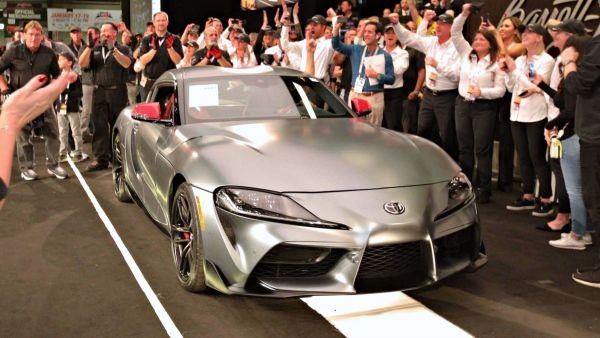 史上最貴牛魔王在此,全球第一輛Toyota Supra以「210萬美元」天價成交!