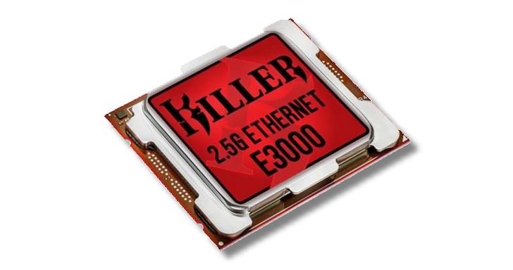 Rivet Networks 推出支援 2.5Gbps 的 Killer E3000,Realtek RTL8125 網路晶片雀屏中選?!
