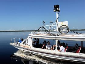 Google 街景車深入亞馬遜雨林,帶來珍貴的部落和河景圖