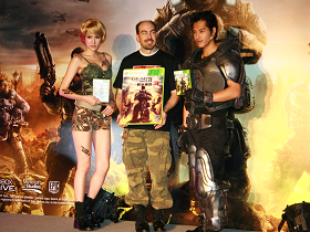 《Gears of War 3 戰爭機器3》開戰在即,見面會全台搶先玩