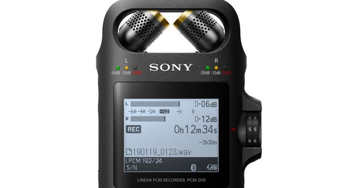 可錄製高解析音質,Sony推出高音質線性錄音器PCM-D10