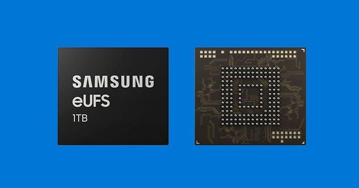 三星首款 1TB 快閃記憶體開始生產,手機儲存容量似乎快追上 PC 了