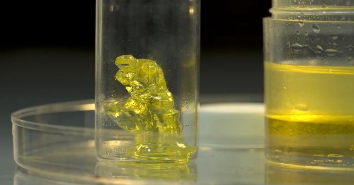 下一代3D印表機,直接將黏性物質轉化為固體物體