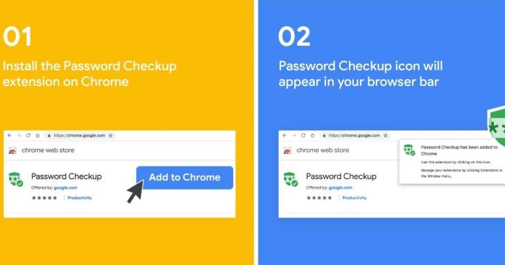 Google 官方發布 Chrome 擴充程式 Password Checkup 檢查你的密碼是否安全