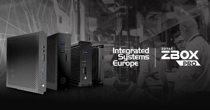 ZOTAC將於ISE展出首個嵌入式計算方案系列ZBOX PRO