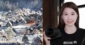 透過職業攝影師翁富美的絕美視角,探究Canon EOS R的設計與操作哲學